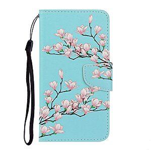 Θήκη Huawei Y5p OEM Flowering branches με βάση στήριξης