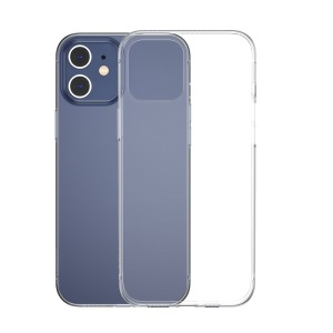 Θήκη iPhone 12 Mini BASEUS Simple Series διάφανη Πλάτη TPU