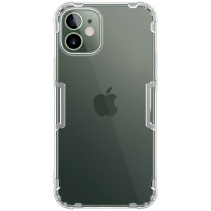 Θήκη iPhone 12 Mini NiLLkin Nature Series 0.6mm Πλάτη TPU διάφανο