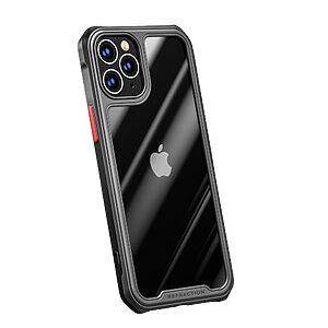 Θήκη iPhone 12 Mini IPAKY Sockproof ανθεκτική και ελαφριά Πλάτη από ενισχυμένο Premium σκληρό TPU μαύρο