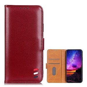 Θήκη iPhone 12 Pro Max OEM PU Leather Wallet Case με βάση στήριξης