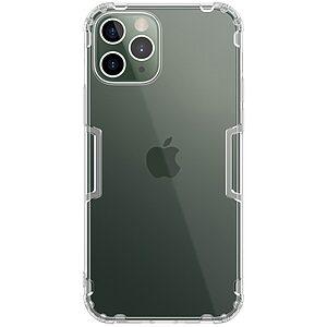 Θήκη iPhone 12 / 12 Pro NiLLkin Nature Series 0.6mm Πλάτη TPU διάφανο