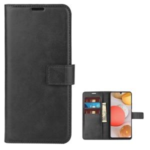 Θήκη Samsung Galaxy A42 OEM Crazy Horse Leather με βάση στήριξης