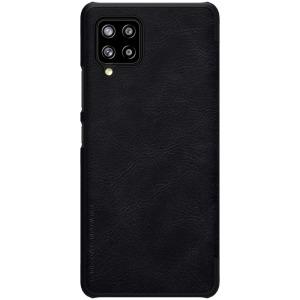 Θήκη Samsung Galaxy A42 NiLLkin Qin Series με υποδοχή για κάρτες Flip Wallet από σκληρό πλαστικό και συνθετικό δέρμα μαύρο