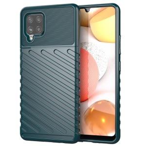 Θήκη Samsung Galaxy A42 OEM Thunder Series Πλάτη από ενισχυμένο TPU πράσινο