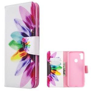 Θήκη Samsung Galaxy M11 OEM Colorful Petals με βάση στήριξης