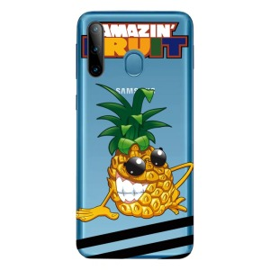 Θήκη Samsung Galaxy M11 OEM σχέδιο Pineapple Πλάτη TPU