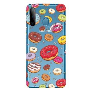 Θήκη Samsung Galaxy M11 OEM σχέδιο Donuts Πλάτη TPU