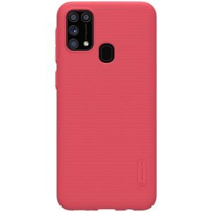 Θήκη Samsung Galaxy M31 NiLLkin Super Frosted Shield Series Πλάτη από Premium σκληρό πλαστικό κόκκινο
