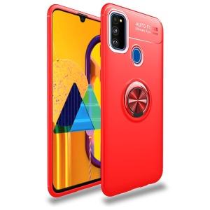 Θήκη Samsung Galaxy M31 OEM Magnetic Ring Kickstand / Μαγνητικό δαχτυλίδι / Βάση στήριξης TPU κόκκινο