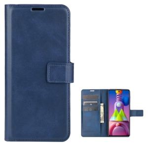 Θήκη Samsung Galaxy M51 OEM Crazy Horse Leather με βάση στήριξης