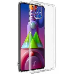 Θήκη Samsung Galaxy M51 IMAK UX-5 Series Soft TPU πλάτη διάφανη