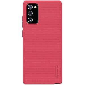 Θήκη Samsung Galaxy Note 20 NiLLkin Super Frosted Shield Series Πλάτη από Premium σκληρό πλαστικό κόκκινο