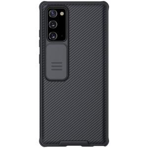 Θήκη Samsung Galaxy Note 20 NiLLkin Camshield Series Πλάτη με προστασία για την κάμερα από σκλήρό Premium TPU μαύρο