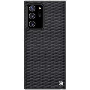Θήκη Samsung Galaxy Note 20 Ultra NiLLkin Textured Hard Case Series Πλάτη από ενισχυμένο πλαστικό και TPU μαύρο