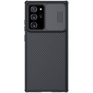 Θήκη Samsung Galaxy Note 20 Ultra NiLLkin Camshield Series Πλάτη με προστασία για την κάμερα από σκλήρό Premium TPU μαύρο