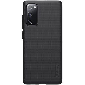 Θήκη Samsung Galaxy S20 FE NiLLkin Super Frosted Shield Series Πλάτη από Premium σκληρό πλαστικό μαύρο