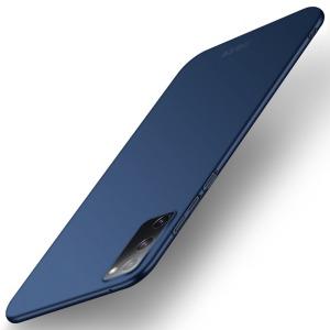 Θήκη Samsung Galaxy S20 FE MOFI Shield Slim Series Πλάτη από σκληρό πλαστικό μπλε