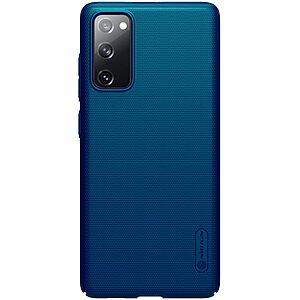 Θήκη Samsung Galaxy S20 FE NiLLkin Super Frosted Shield Series Πλάτη από Premium σκληρό πλαστικό μπλε