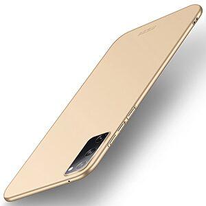 Θήκη Samsung Galaxy S20 FE MOFI Shield Slim Series Πλάτη από σκληρό πλαστικό χρυσό