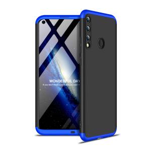 Θήκη GKK Full body Protection 360° από σκληρό πλαστικό για Huawei P40 Lite E μαύρο / μπλε
