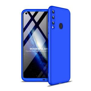 Θήκη GKK Full body Protection 360° από σκληρό πλαστικό για Huawei P40 Lite E μπλε