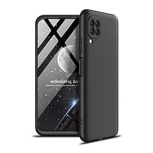 Θήκη GKK Full body Protection 360° από σκληρό πλαστικό για Huawei P40 Lite μαύρο