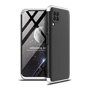 Θήκη GKK Full body Protection 360° από σκληρό πλαστικό για Huawei P40 Lite μαύρο / ασημί