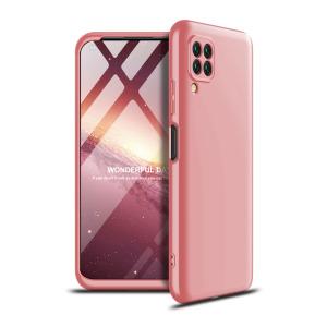 Θήκη GKK Full body Protection 360° από σκληρό πλαστικό για Huawei P40 Lite ροζ χρυσό
