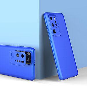 Θήκη GKK Full body Protection 360° από σκληρό πλαστικό για Huawei P40 Pro μπλε