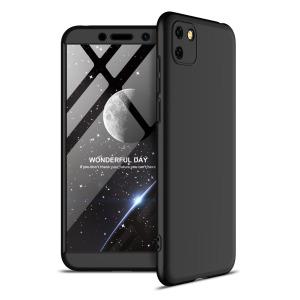 Θήκη GKK Full body Protection 360° από σκληρό πλαστικό για Huawei Y5p μαύρο