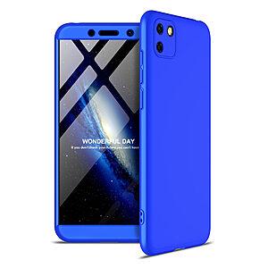 Θήκη GKK Full body Protection 360° από σκληρό πλαστικό για Huawei Y5p μπλε
