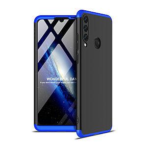 Θήκη GKK Full body Protection 360° από σκληρό πλαστικό για Huawei Y6p μαύρο / μπλε