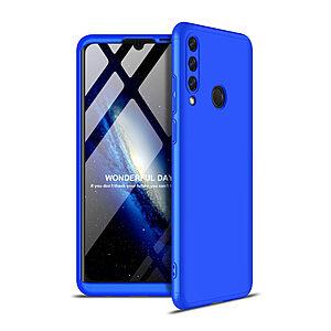 Θήκη GKK Full body Protection 360° από σκληρό πλαστικό για Huawei Y6p μπλε