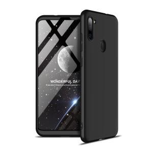 Θήκη GKK Full body Protection 360° από σκληρό πλαστικό για Samsung Galaxy M11 μαύρο