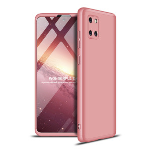 Θήκη GKK Full body Protection 360° από σκληρό πλαστικό για Samsung Galaxy Note 10 Lite ροζ χρυσό