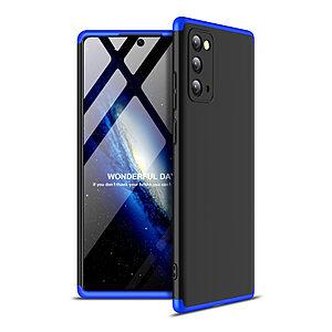 Θήκη GKK Full body Protection 360° από σκληρό πλαστικό για Samsung Galaxy Note 20 μαύρο / μπλε