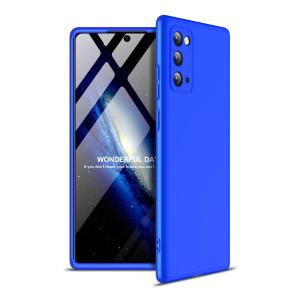 Θήκη GKK Full body Protection 360° από σκληρό πλαστικό για Samsung Galaxy Note 20 μπλε