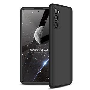 Θήκη GKK Full body Protection 360° από σκληρό πλαστικό για Samsung Galaxy S20 FE μαύρο