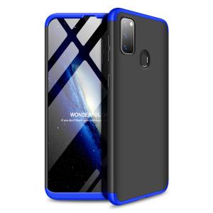 Θήκη GKK Full body Protection 360° από σκληρό πλαστικό για Samsung M21 μαύρο / μπλε