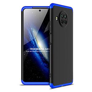 Θήκη GKK Full body Protection 360° από σκληρό πλαστικό για Xiaomi Mi 10T Lite μαύρο / μπλε