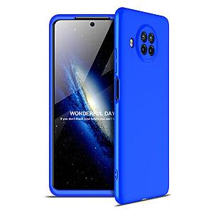 Θήκη GKK Full body Protection 360° από σκληρό πλαστικό για Xiaomi Mi 10T Lite μπλε