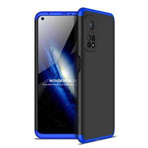 Θήκη GKK Full body Protection 360° από σκληρό πλαστικό για Xiaomi Mi 10T / Mi 10T Pro μαύρο / μπλε