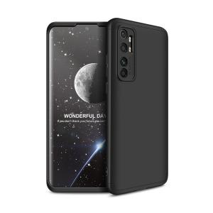 Θήκη GKK Full body Protection 360° από σκληρό πλαστικό για Xiaomi Mi Note 10 Lite μαύρο