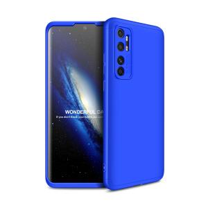 Θήκη GKK Full body Protection 360° από σκληρό πλαστικό για Xiaomi Mi Note 10 Lite μπλε