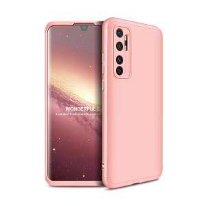 Θήκη GKK Full body Protection 360° από σκληρό πλαστικό για Xiaomi Mi Note 10 Lite ροζ χρυσό