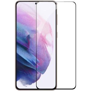 NiLLkin Amazing CP+ Pro Max για Samsung Galaxy S21 Plus (Πλήρης Κάλυψη) Αντιχαρακτικό γυαλί Tempered Glass 9H – μαύρο – 0.33mm