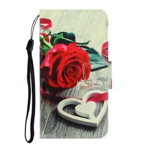 Θήκη Samsung Galaxy A02S OEM Heart Rose με βάση στήριξης
