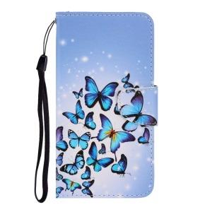 Θήκη Samsung Galaxy A02S OEM Shiny Butterflies με βάση στήριξης