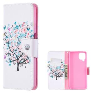 Θήκη Samsung Galaxy A12 OEM Flowered Tree με βάση στήριξης